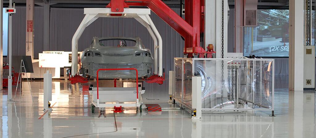 Tesla-Fabrik Fremont