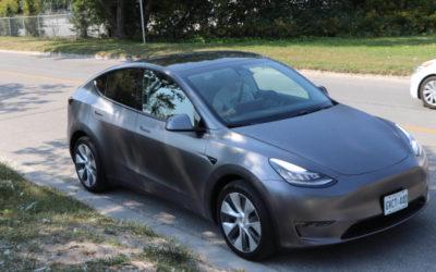 Tesla Model Y erhält offizielles Reichweiten-Rating