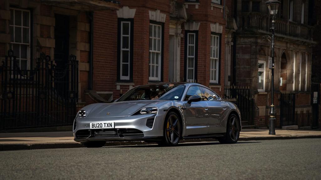 Porsche Taycan Turbo: Optik und Design