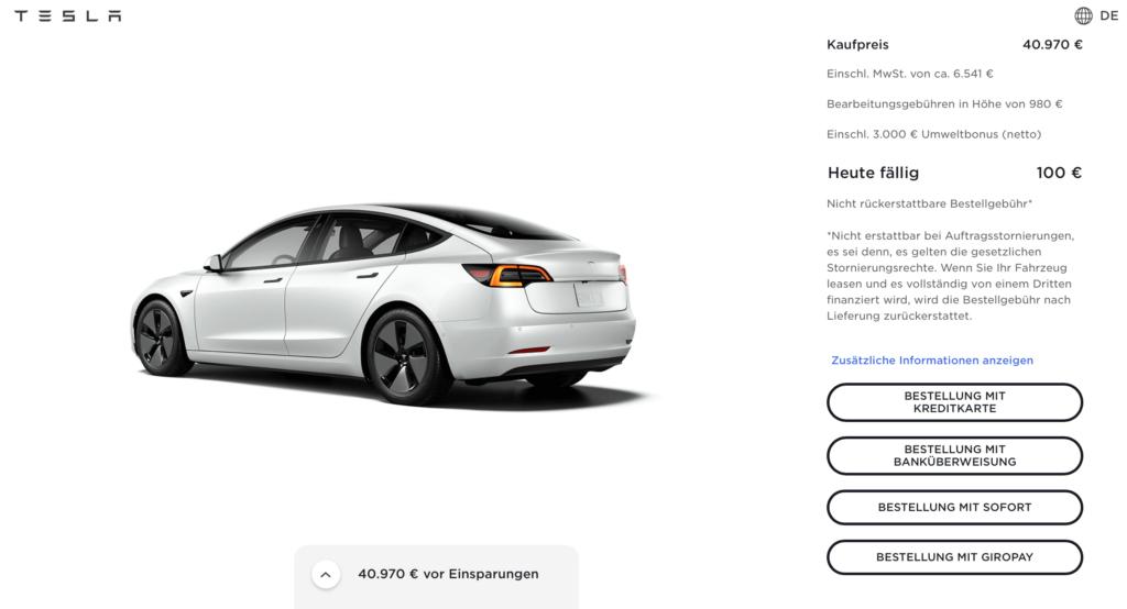 Tesla entfernt Bitcoin als Zahlungsmittel