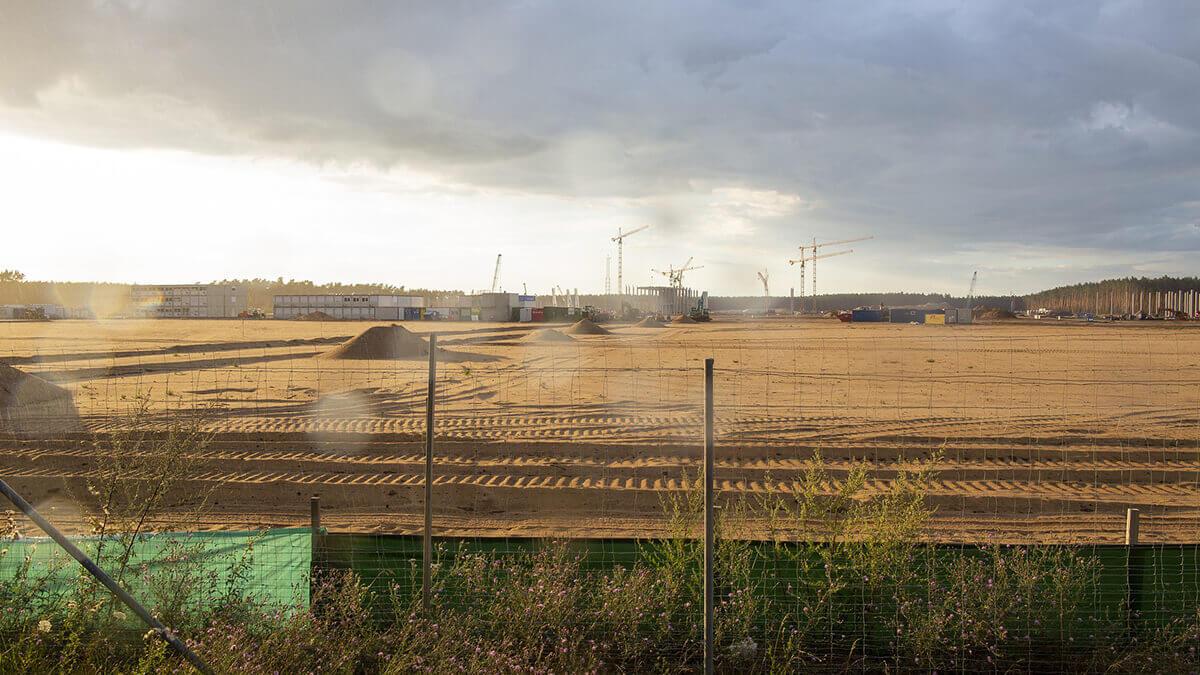 Tesla-Fabrik in Grünheide: Umweltamt prüft Gutachten
