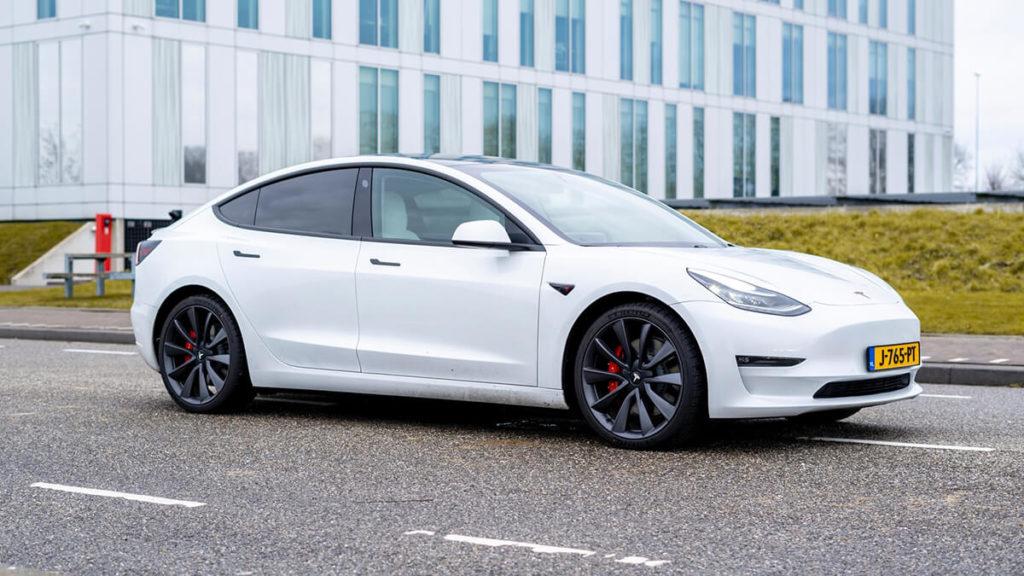 Tesla Model 3 Performance: Optik und Design