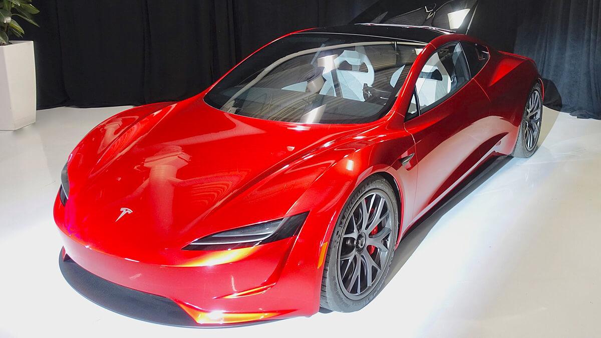 Tesla Roadster bekommt Update: Von 0 auf 100 in 1,1 Sekunden