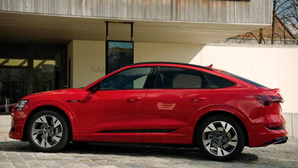 Audi e-tron Sportback vs. Tesla Model X: Optik