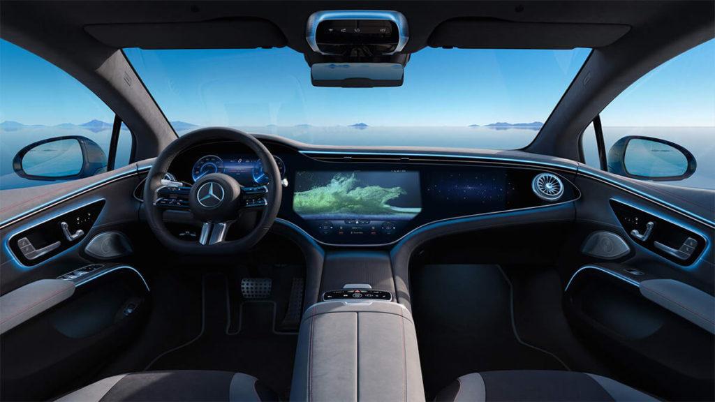 Mercedes EQS-Innenraum: Luxus pur