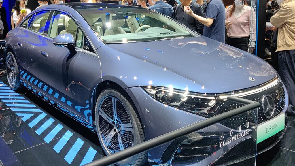 Mercedes EQS Optik: Nicht jeder ist mit der kürzeren Schnauze und typischen Mercedes-Grill zufrieden