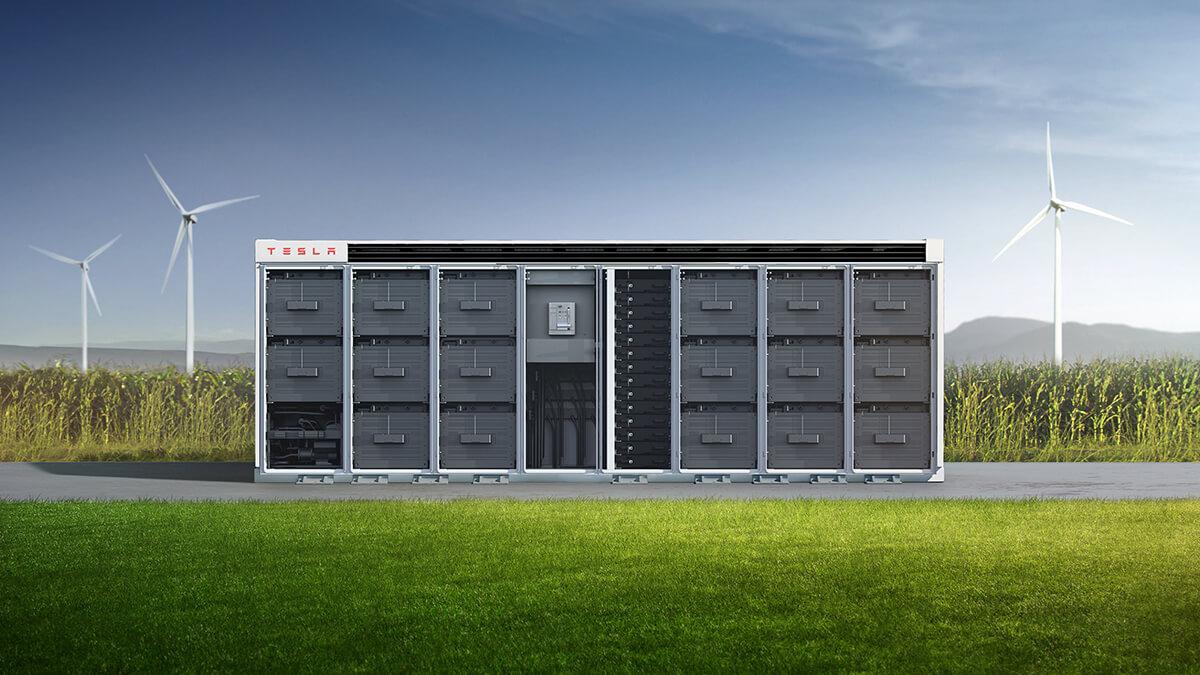 142 Tesla Megapacks betreiben neues innovatives Energieprojekt