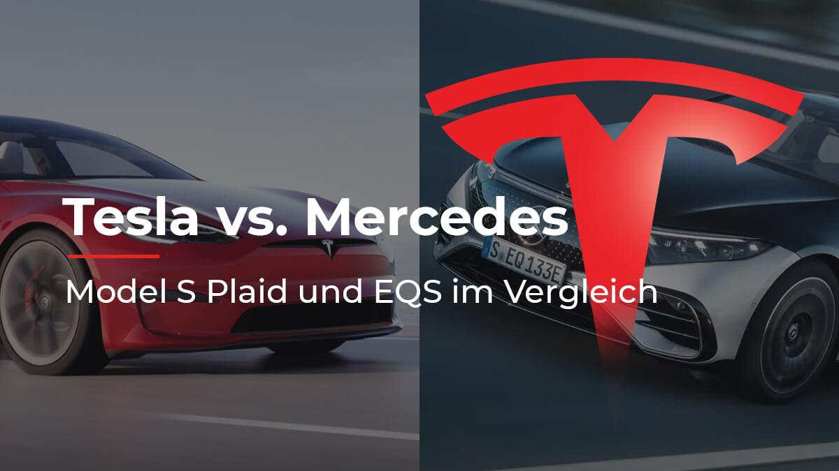 Oberklasse-Duell: Tesla Model S Plaid vs. Mercedes EQS