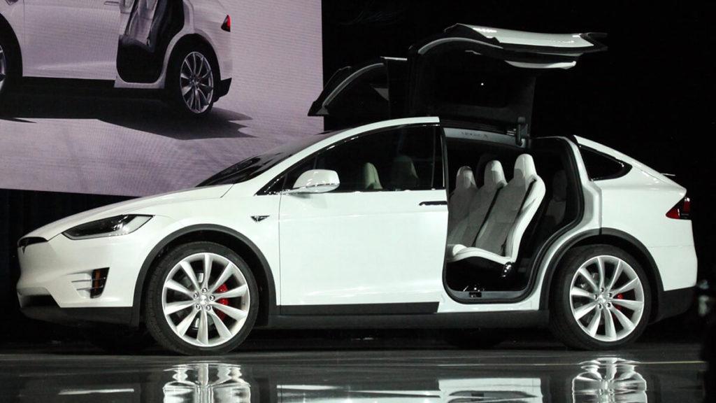 Tesla Model X vs Audi e-tron Sportback: Optik