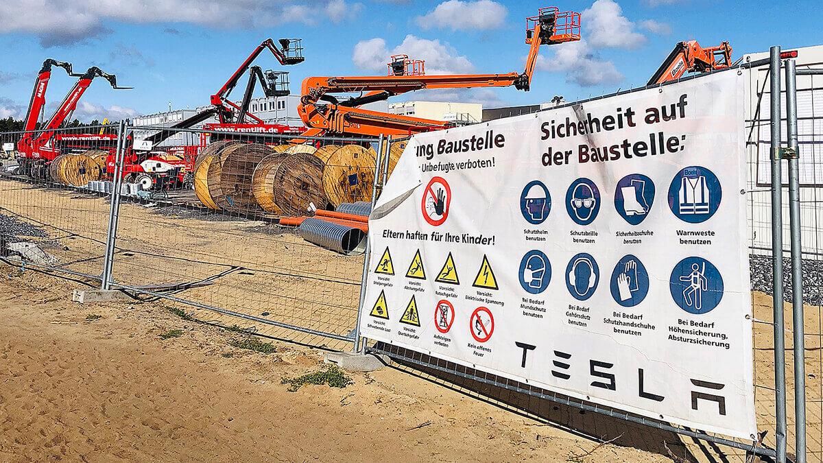 Tesla-Unterlagen für Gigafactory Grünheide ab Freitag öffentlich ausgelegt