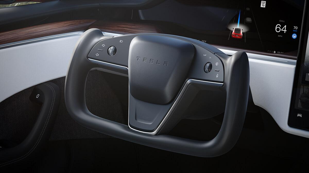 Elon Musk bestätigt: Tesla wird kein normales Lenkrad bei Model S und X anbieten