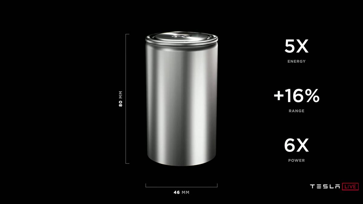 Tesla gibt Update zu neuer Batterie: mehr Reichweite, niedrigere Kosten