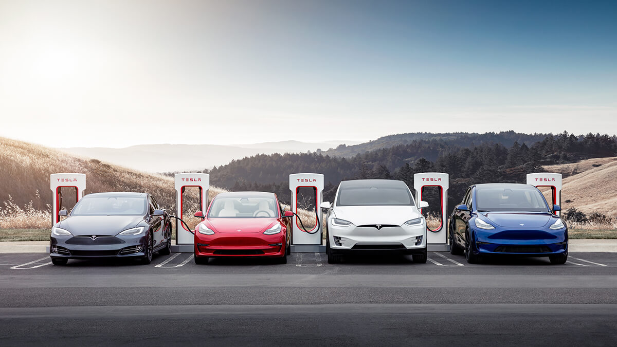 Tesla noch immer dominant in E-Auto-Branche: 66% Marktanteil