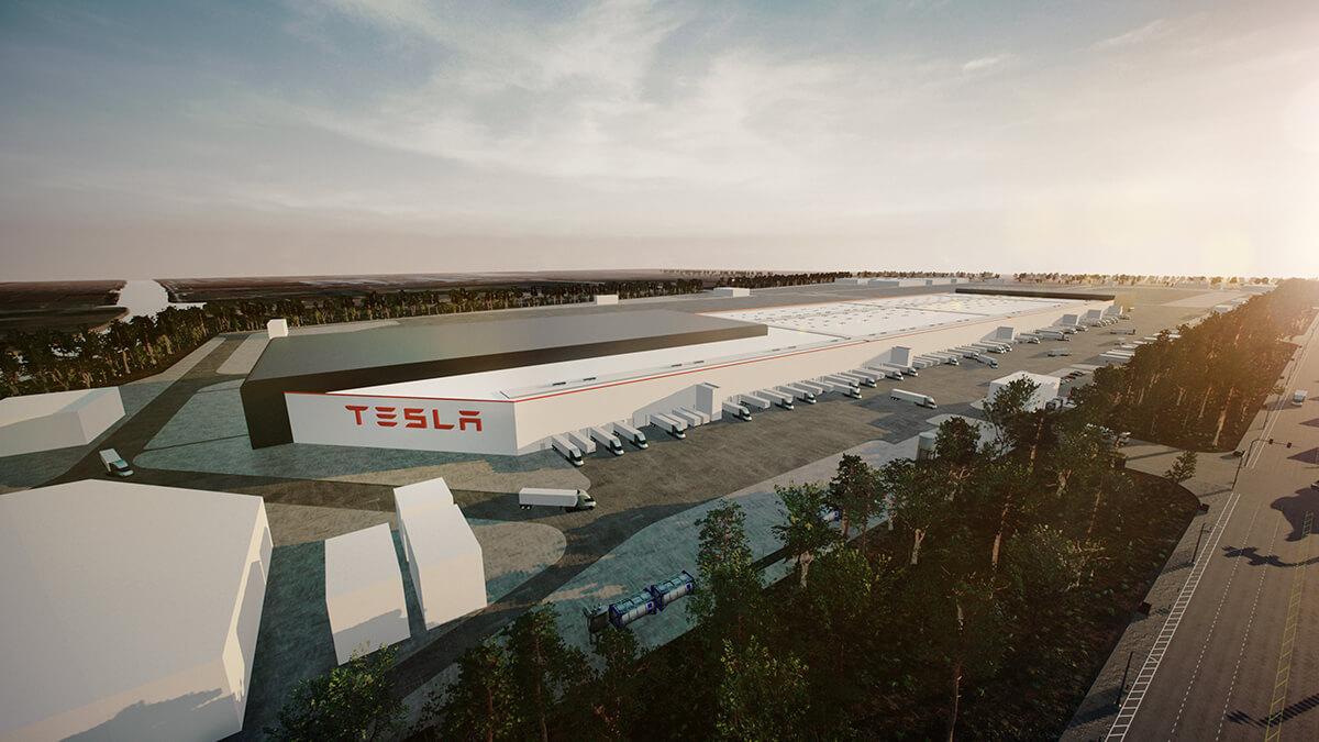 Tesla Gigafactory Shanghai wird neues Exportzentrum