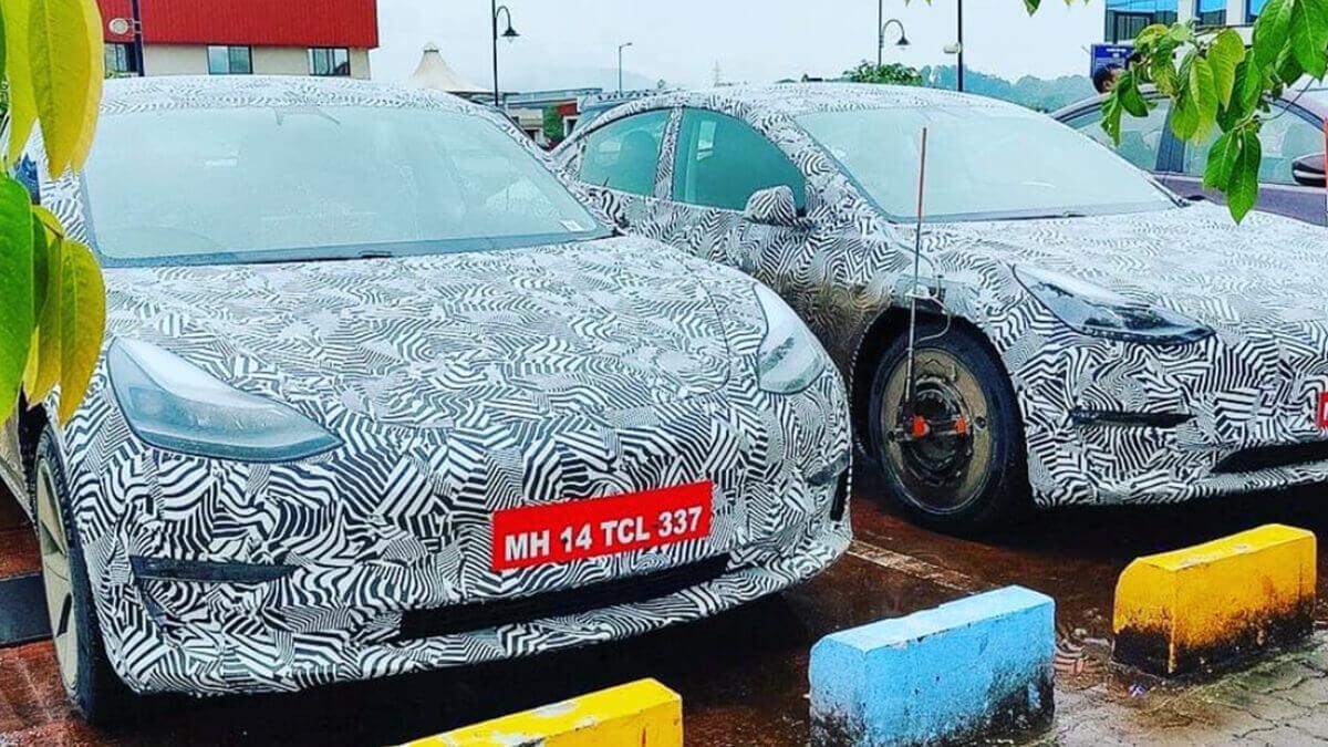 Tesla will in indischen Markt: Model 3 im Camouflage-Look gesichtet