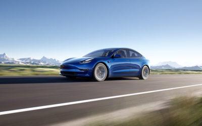 Tesla Model 3 SR+: Reichweitenerhöhung auf fast 500 Kilometer