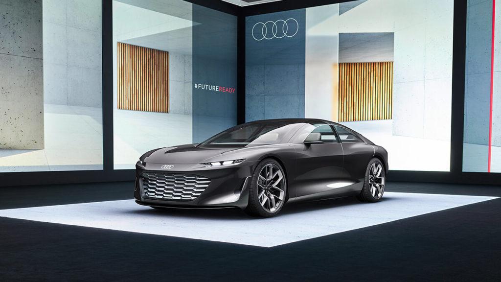 IAA 2021: Tesla-Konkurrent Audi stellt Grandsphere Concept vor