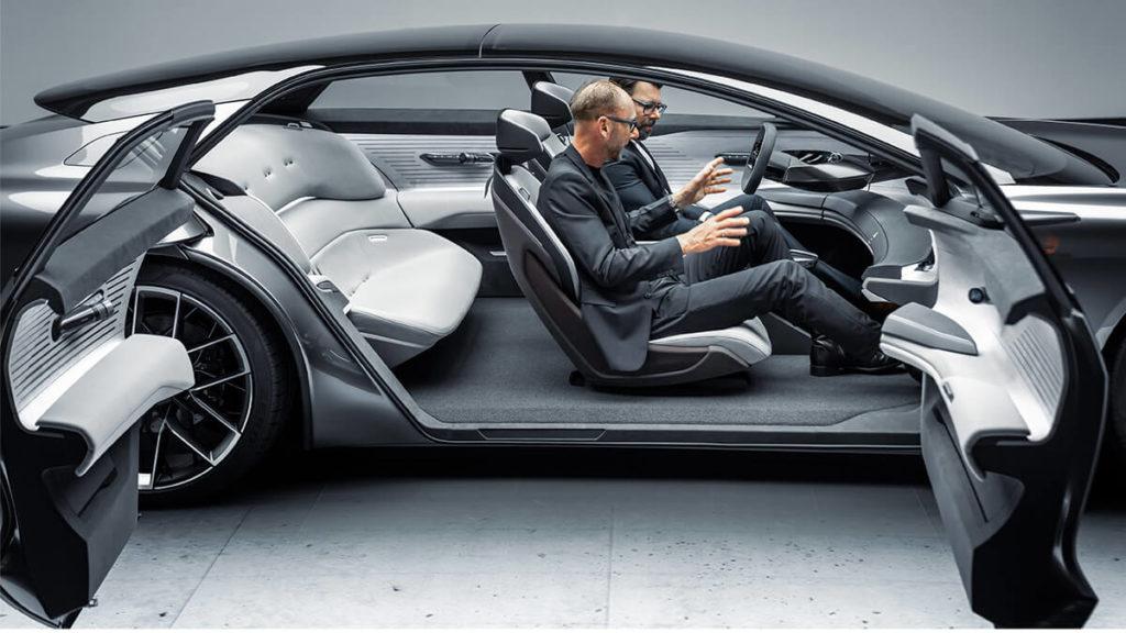 IAA 2021: Audi Grandsphere Concept mit gegenläufig öffnenden Türen