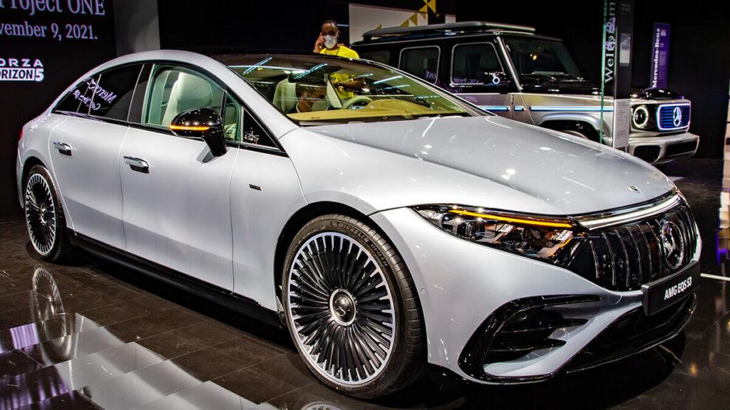 Tesla-Konkurrent Mercedes-AMG EQS 53 4matic+