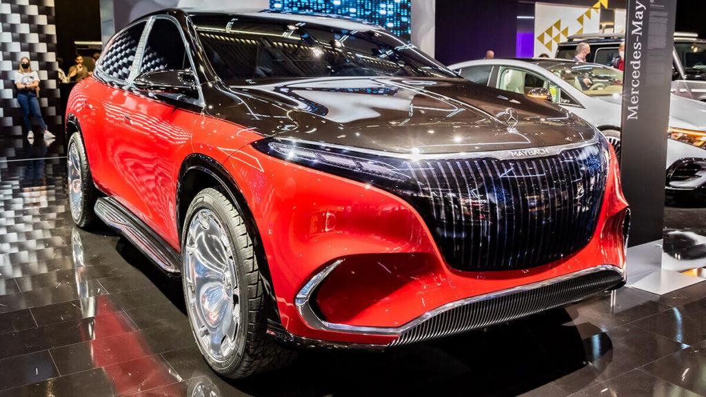 Tesla-Konkurrent Mercedes-Maybach EQS-SUV