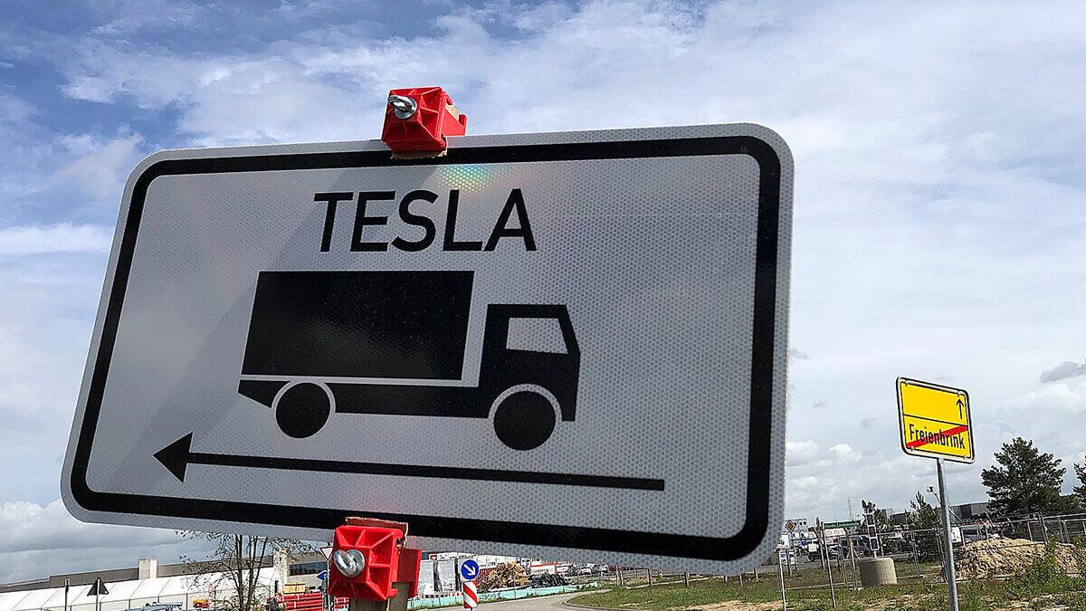 Tesla-Werk in Grünheide erhält 120 Millionen Euro Förderung von Brandenburg
