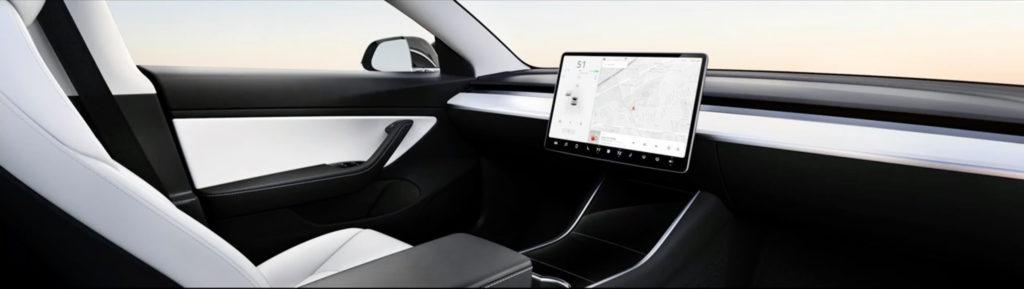 Tesla Model 2: Konzeptfoto ohne Lenkrad