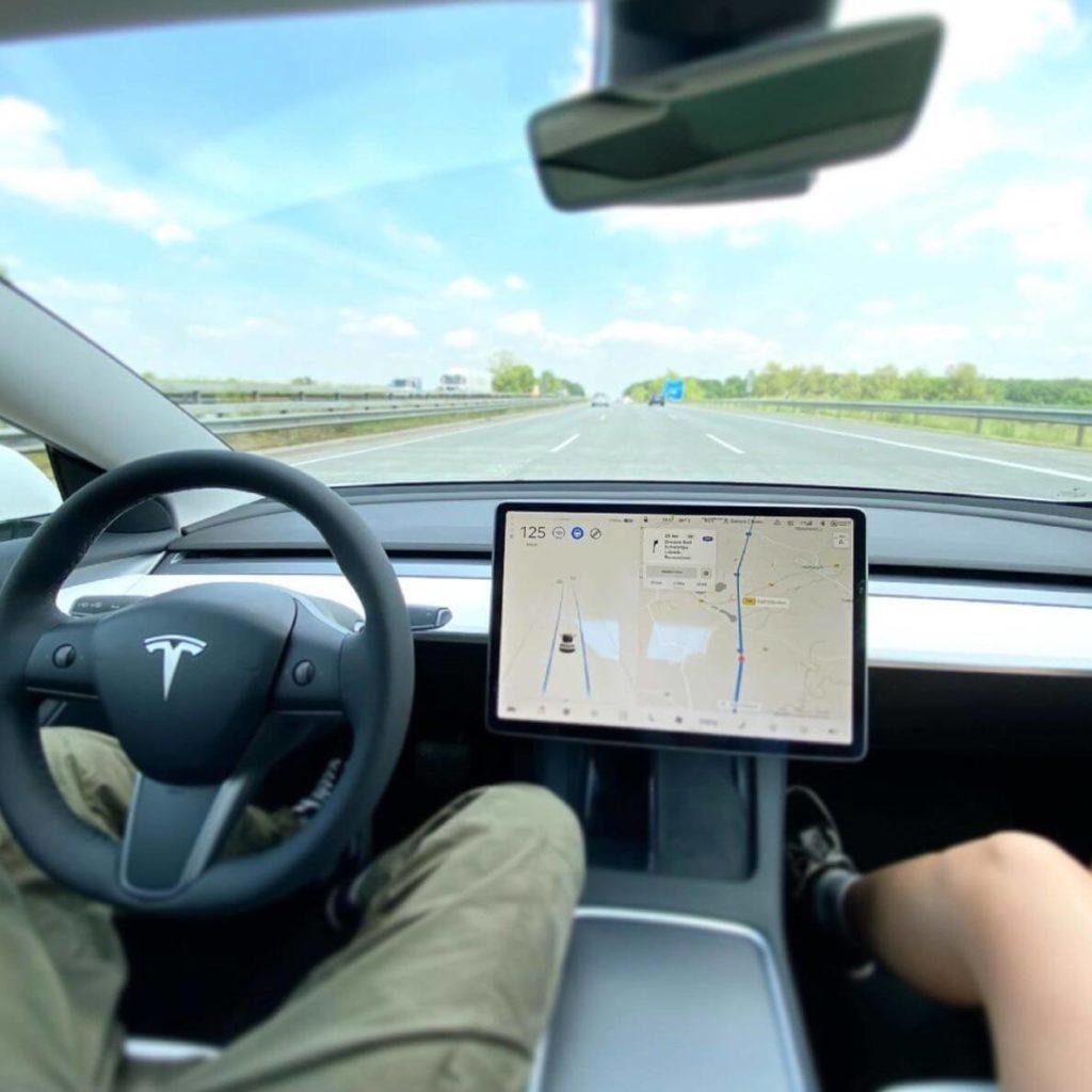 Tesla Model 3 Erfahrungsbericht: Innenraum