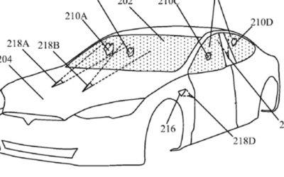 Tesla registriert Patent für neue Laser-Scheibenwischer