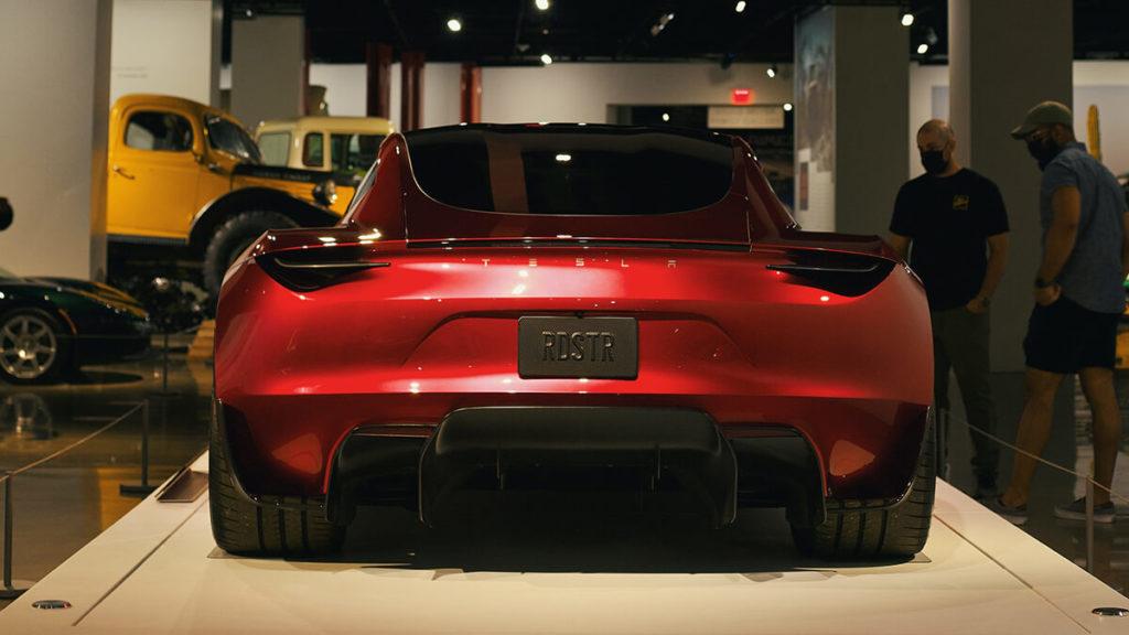 Tesla Roadster: Heck