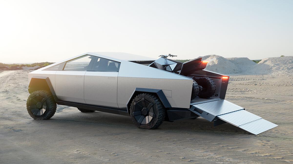 """Tesla Cyberquad soll """"sicherstes ATV"""" werden laut Elon Musk"""