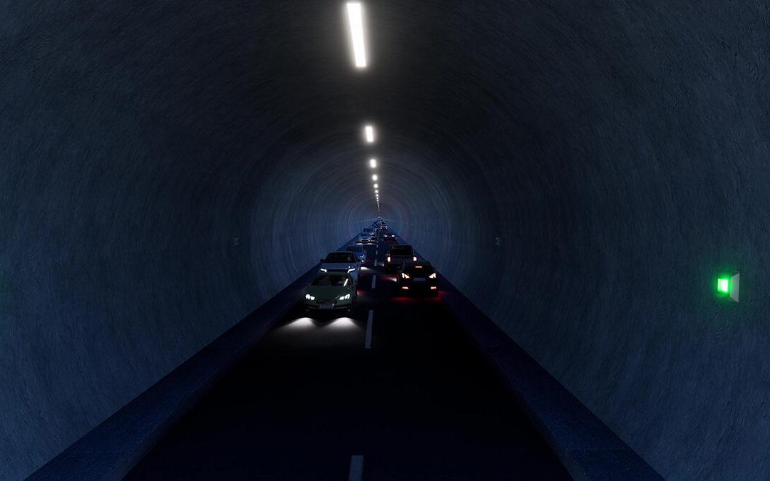 Tesla-Tunnel von The Boring Company wird größer: bald 57.000 Passagiere pro Stunde